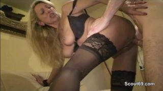 Blondinen ficken in Pornos
