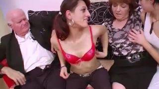 Deutsche Oma mag Analsex