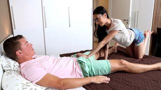 Eine dieser Sperma geilen Porno Frauen