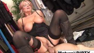 Reife Frauen beim Dauerficken
