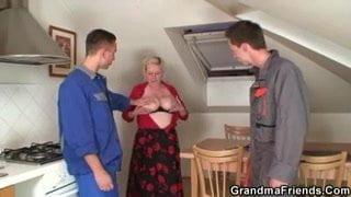 Sperma geile Porno Frauen ficken