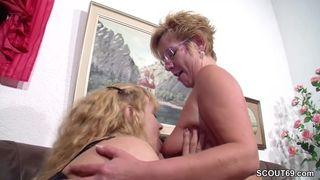 Inzest Porno – Mama und ich beim Lesbensex