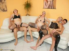 oma-gruppensex-porno